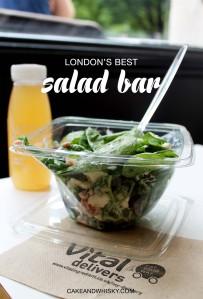 Vital Ingredient, London's Best Salad Bar   Cake + Whisky