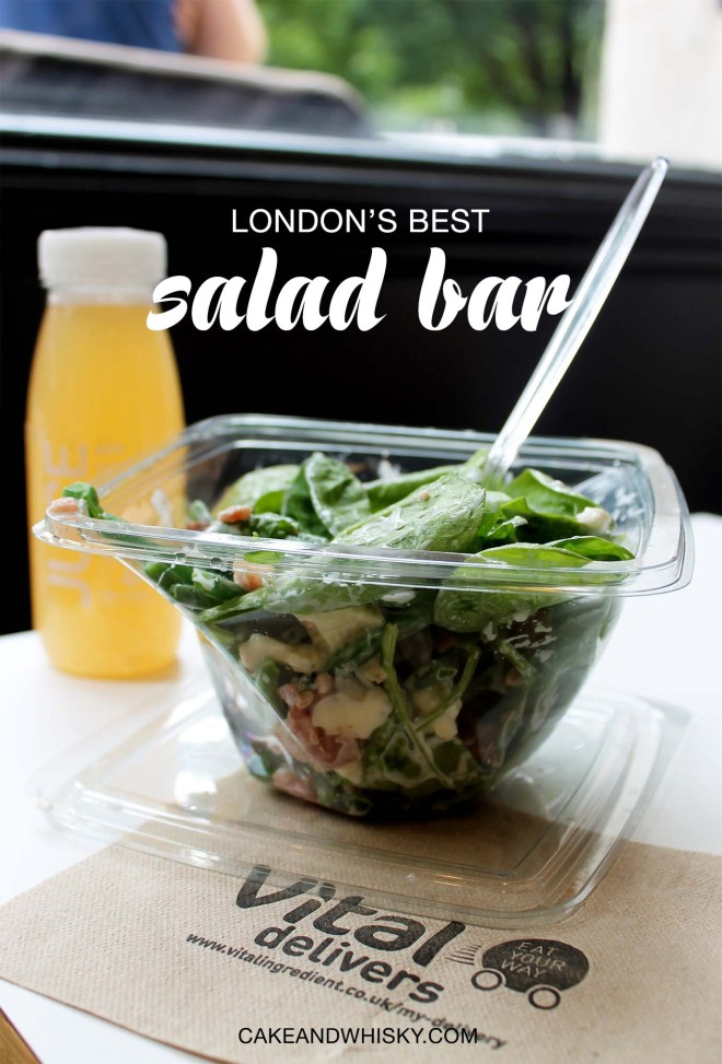 Vital Ingredient, London's Best Salad Bar | Cake + Whisky