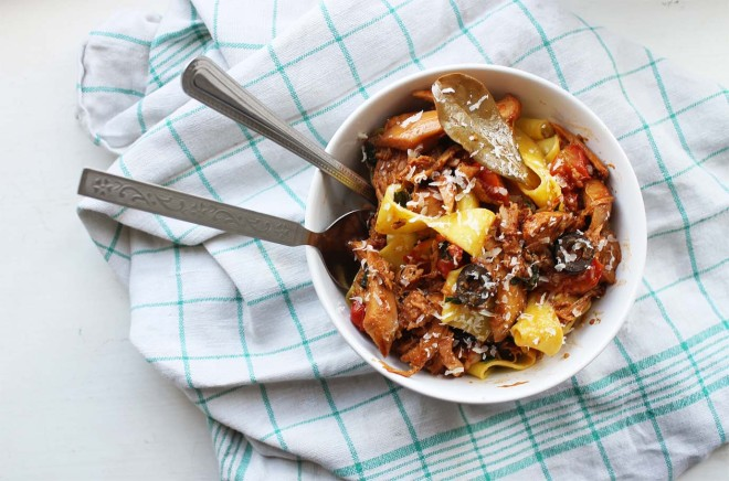 Rabbit Ragu Pappardelle recipe | Cake + Whisky