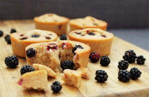 Blackberry Friands   Cake + Whisky