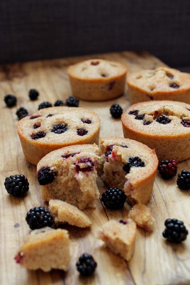 Blackberry Friands | Cake + Whisky