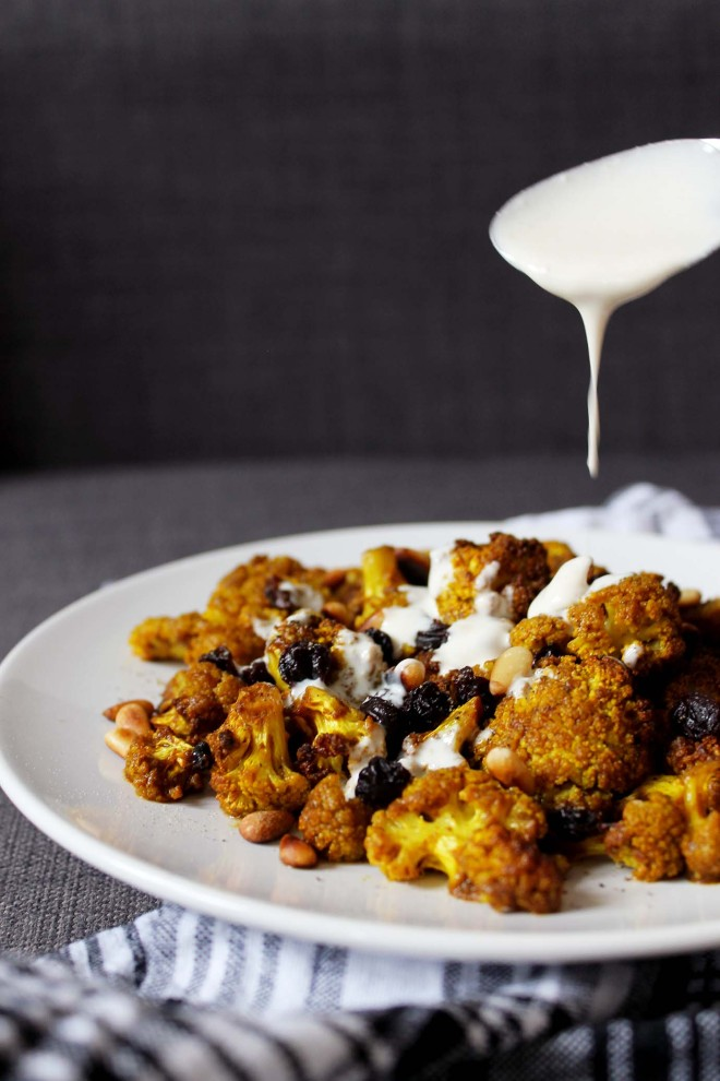 Curried Cauliflower Salad | Cake + Whisky