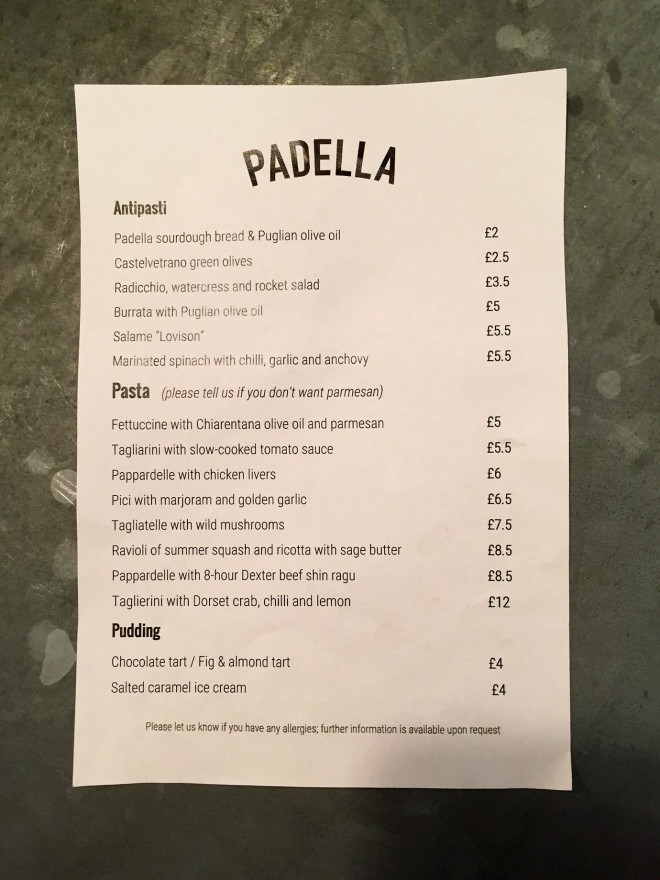 Padella Pasta, London | Cake + Whisky