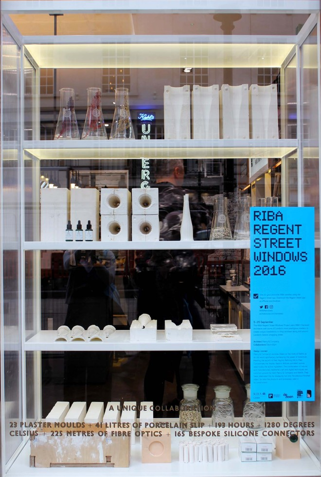 RIBA Regent Street Windows Project 2016 | Cake + Whisky