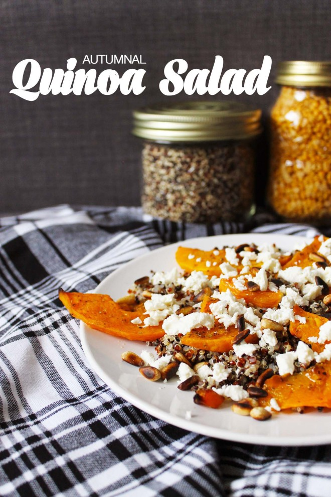 Autumnal Quinoa Salad | Cake + Whisky