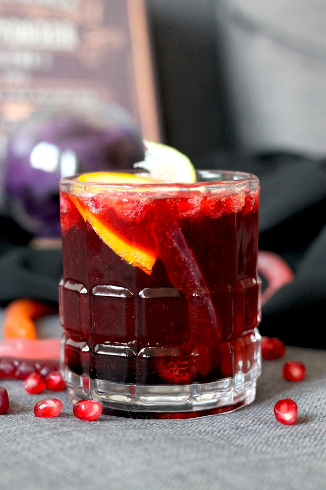 Bloody Ghoul's Goblet Halloween Cocktail | Cake + Whisky