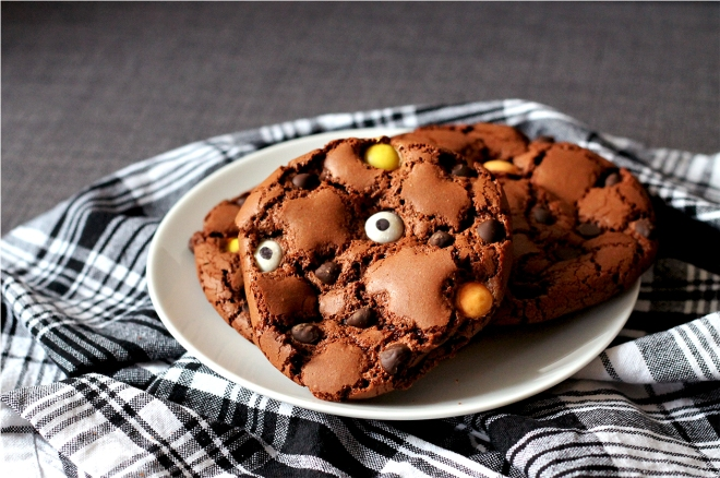 Halloween Monster Brookies | Cake + Whisky
