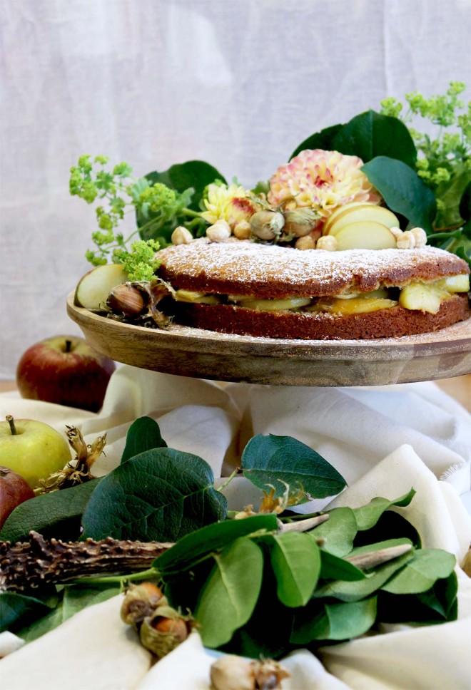 Autumnal Hazelnut Torte recipe | Cake + Whisky