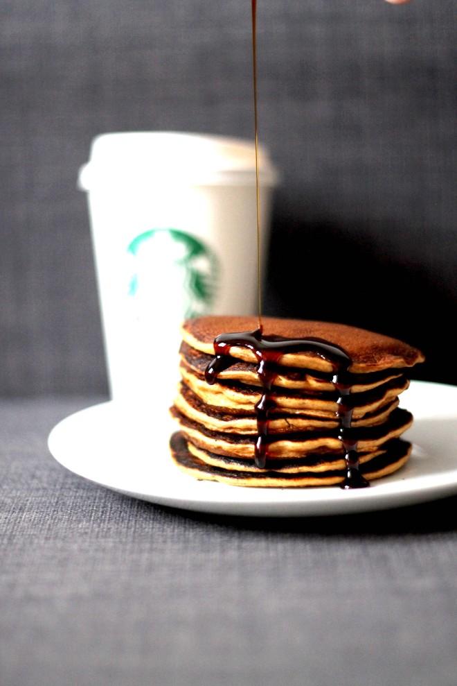 Pumpkin Spice Latte Pancakes | Cake + Whisky