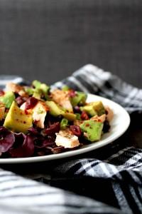 Salmon & Lentil Salad by Cake + Whisky