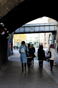 Exploring London's Bankside - Flat Iron Square & the Low Line