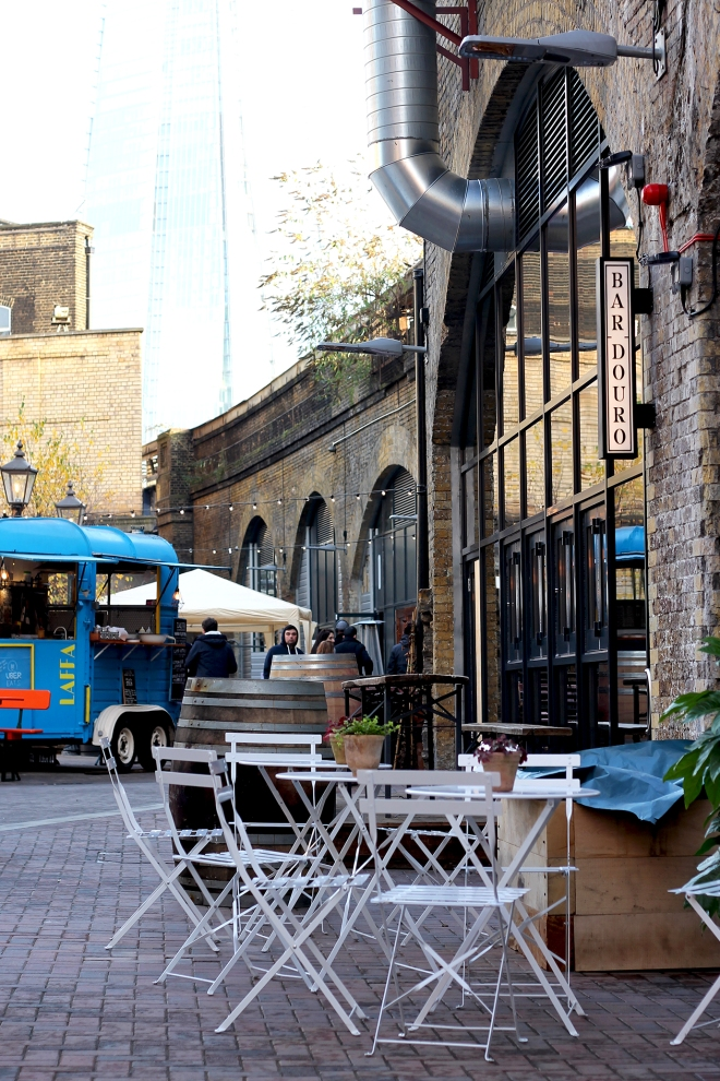 Exploring London's Bankside - Flat Iron Square & the Low Line
