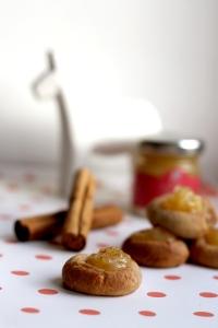 Cinnamon & ginger thumbprint cookies | Cake + Whisky