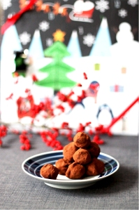 Spices chocolate truffles | Cake + Whisky