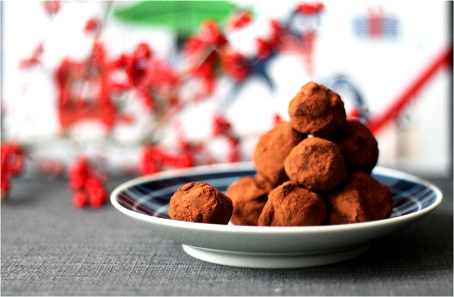 Spiced chocolate truffles | Cake + Whisky