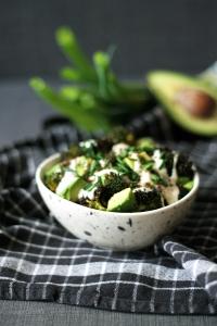 Broccoli & avocado salad | Cake + Whisky