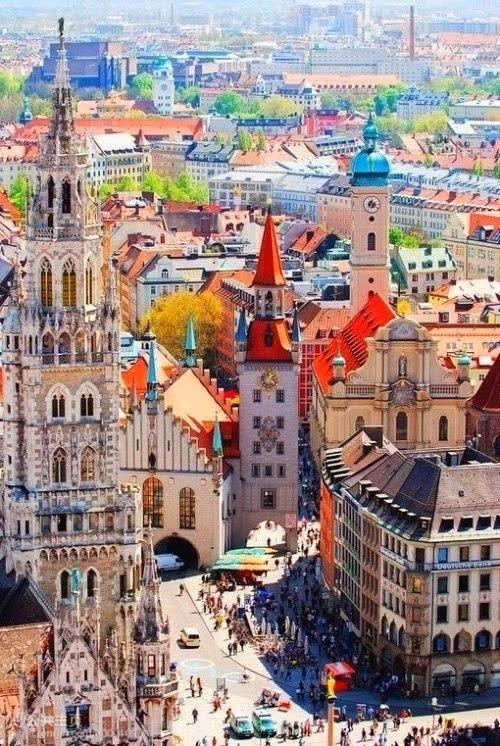 2017 Travel Plans | Munich, Germany