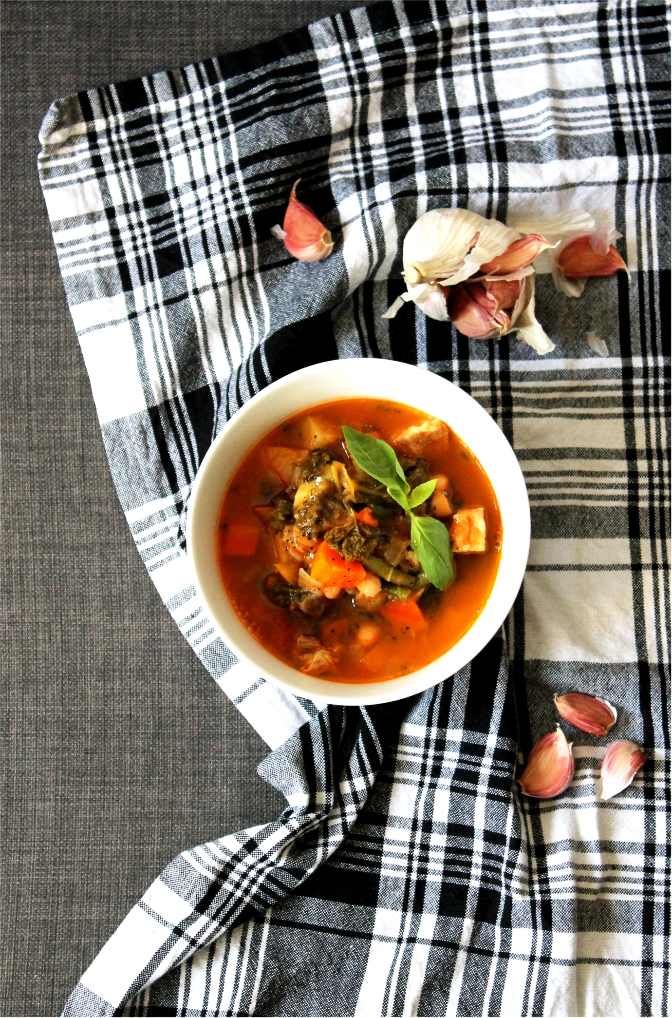 Winter Pistou Soup | Cake + Whisky