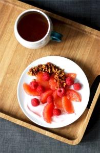 Pink Fruit Salad recipe | Cake + Whisky