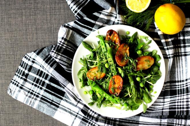 Spring Potato Salad (Vegan, GF) | Cake + Whisky