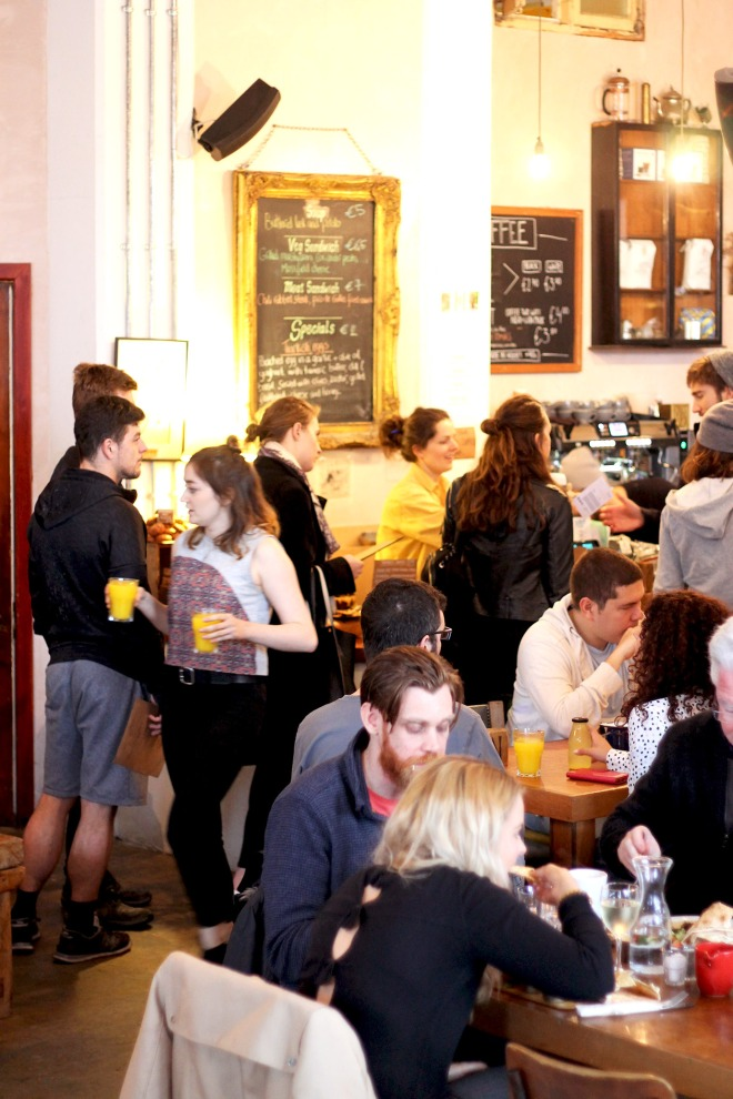 Dublin's best brunch at The Fumbally | Cake + Whisky