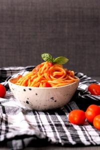 Tomato coconut pasta recipe | Cake + Whisky