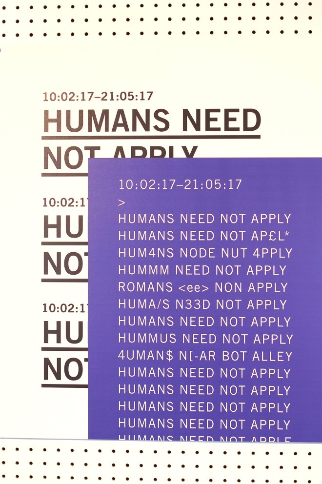 Humans need not apply at Dublin Science Gallery
