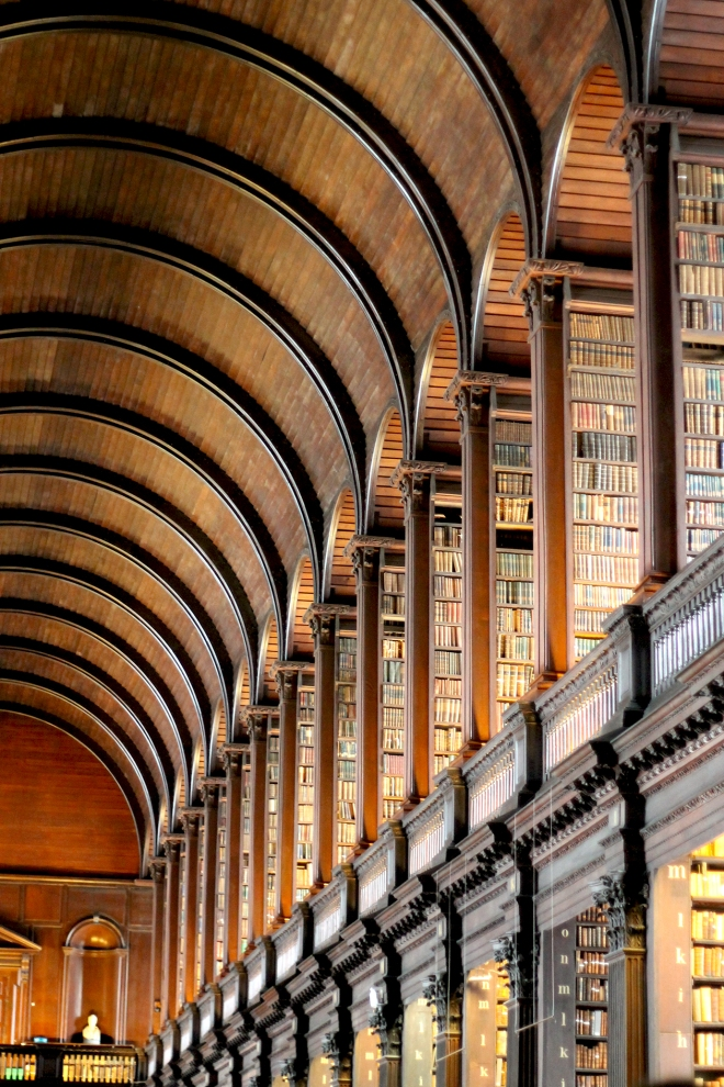 Trinity College Library's Long Room, Dublin