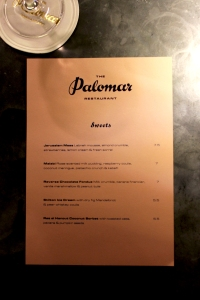 The Palomar ● London restaurant review ● Cake + Whisky