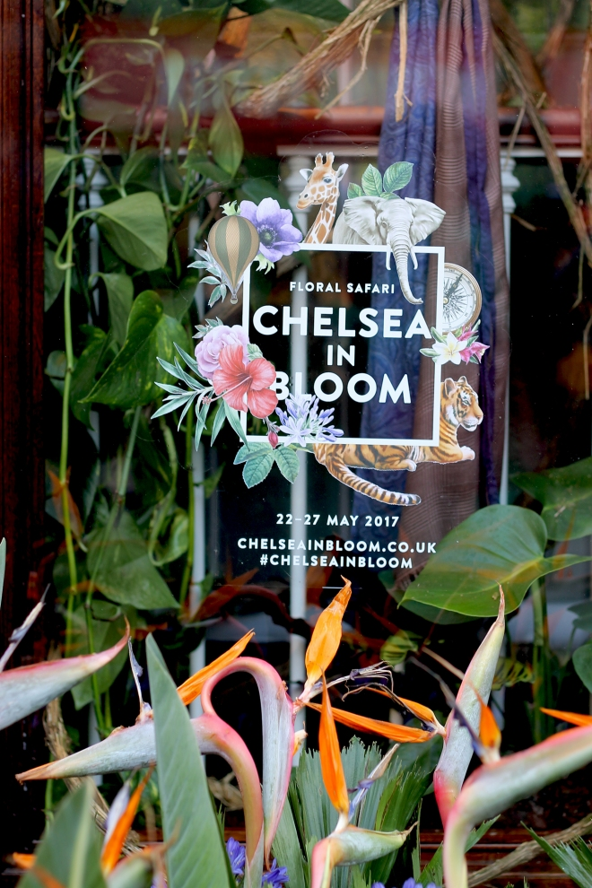 Chelsea in Bloom - Floral Safari ● Cake + Whisky
