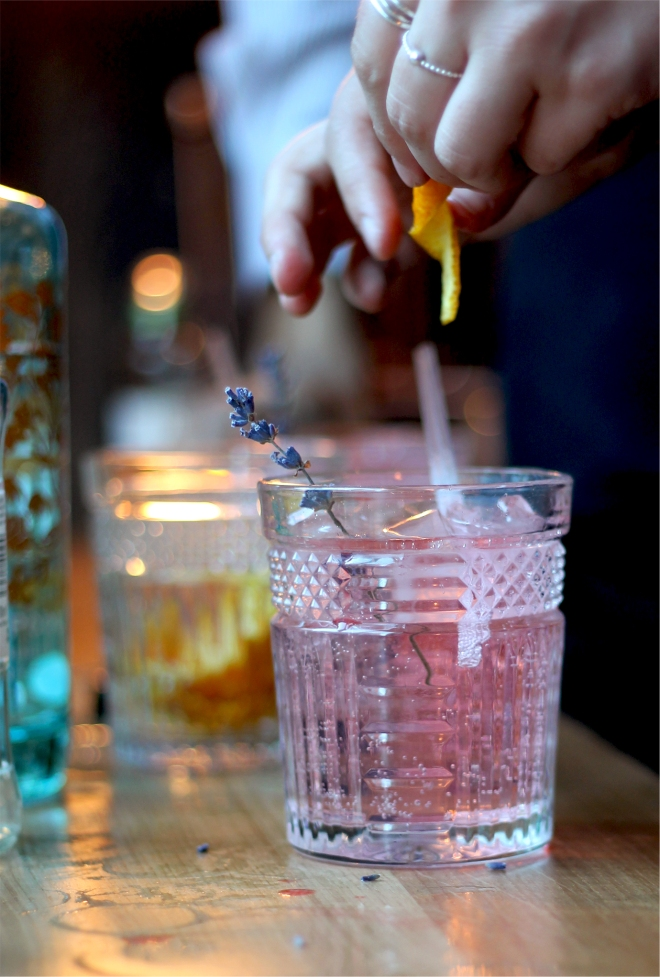 A Taste of Summer • Pink Gin and Tonic • Cake + Whisky