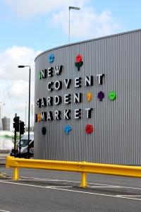 New Covent Garden Flower Market, London ● Cake + Whisky