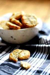 Poppy Seed & Parmesan Cheese Biscuits • Recipe • Cake + Whisky