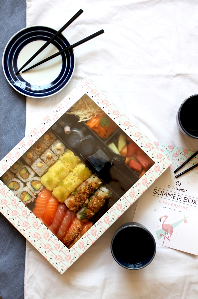 Sushi Shop Summer Box review • Cake + Whisky
