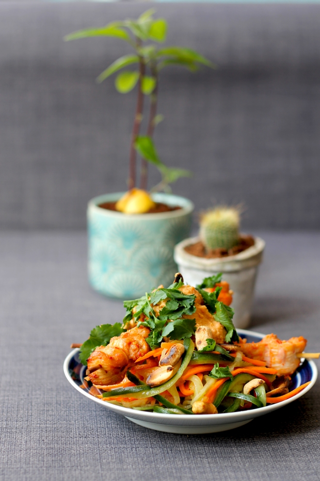 Satay Chicken Salad • Recipe • Cake + Whisky