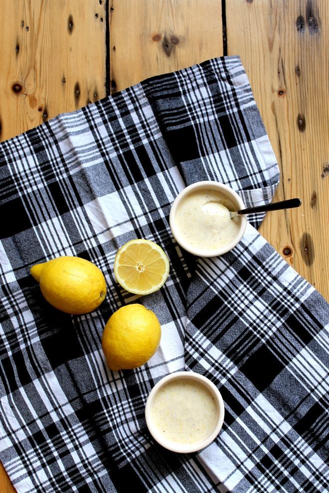 Vanilla Lemon Posset (V) • Recipe • Cake + Whisky
