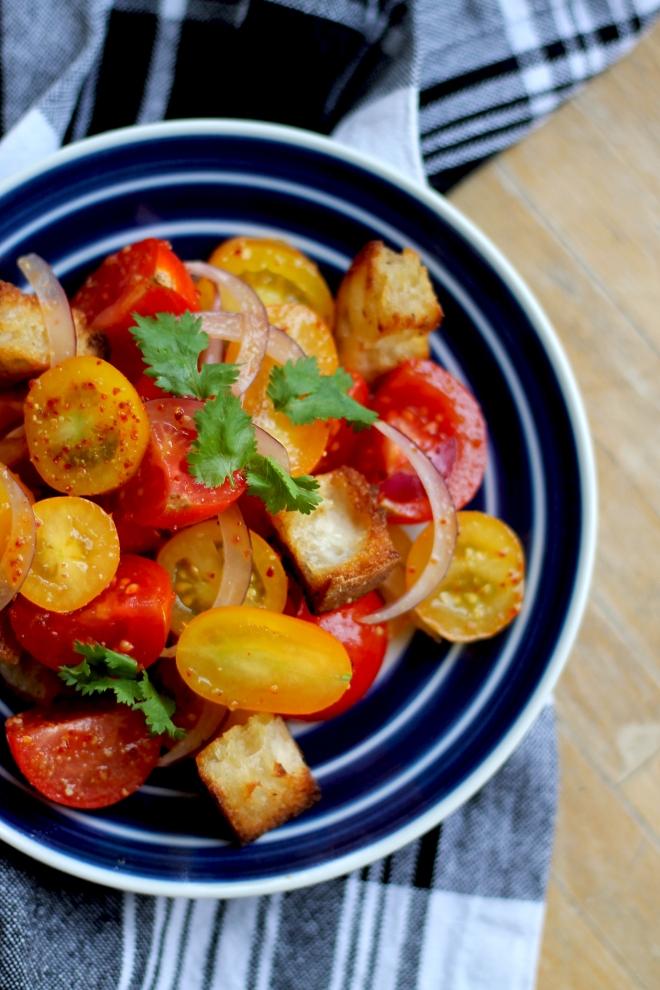 Classic Panzanella Salad (Vegan, dairy free) • Recipe • Cake + Whisky