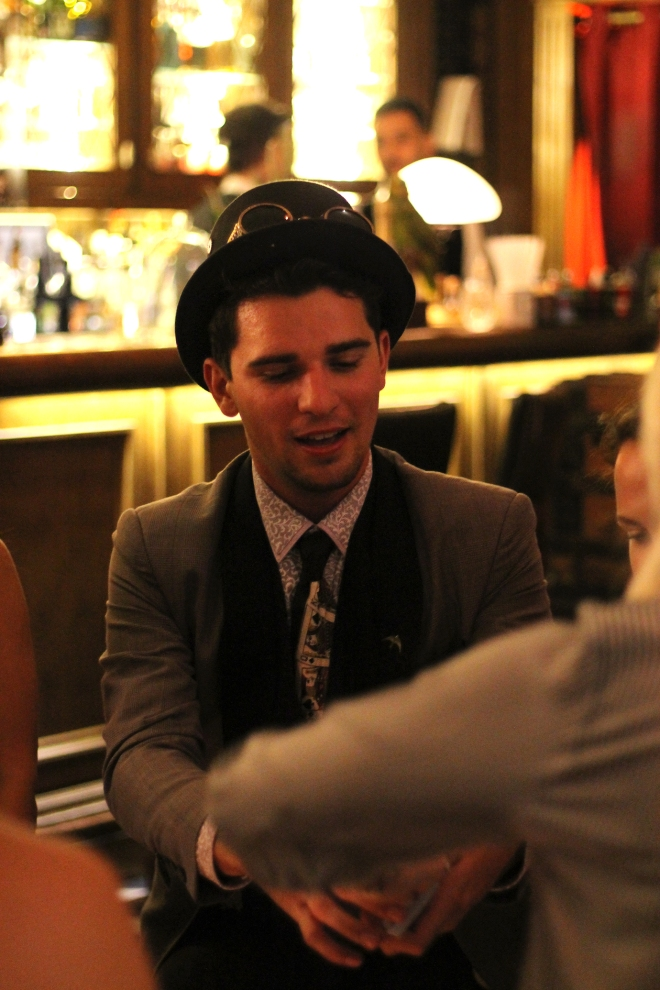 A curious evening of cocktails and magic at Mr Fogg's • Cake + Whisky