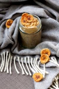 Banana Bread Porridge (VG) • Breakfast Recipe • Cake + Whisky