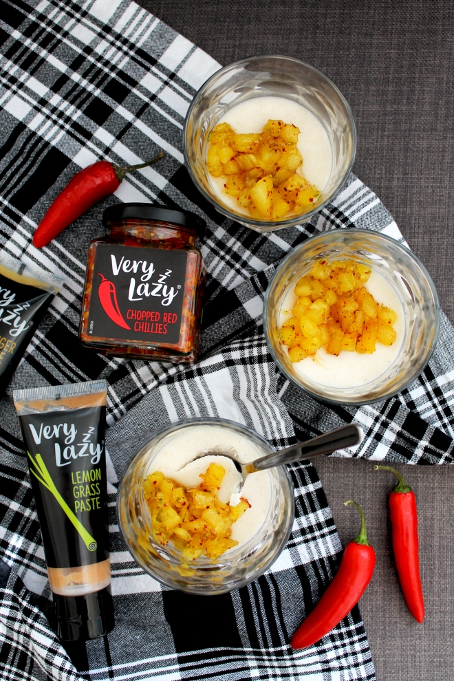 Lemongrass & coconut panna cotta (vegan) • Recipe • Cake + Whisky