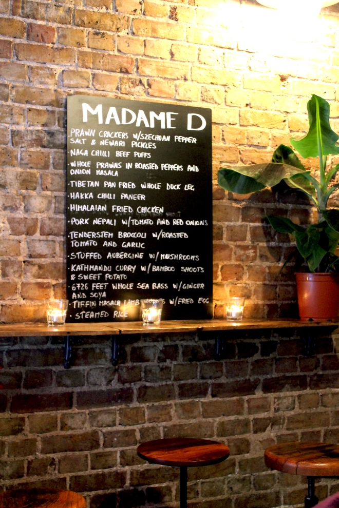 Madame D • London Restaurant Review • Cake + Whisky