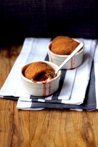 Polenta Plum Cobbler • Recipe • Cake + Whisky