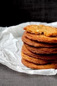 Raspberry & White Chocolate Cookies (V) • Recipe • Cake + Whisky