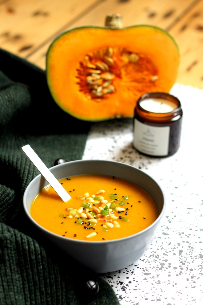 The best squash soup recipe (vegan) • Cake + Whisky