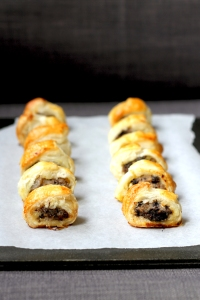 Apple & Black Pudding Sausage Rolls • Party Food Recipe • Cake + Whisky