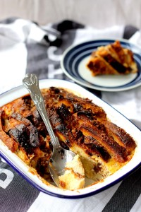 Bread & Butter Pudding ● Classic pudding recipe ● Cake + Whisky