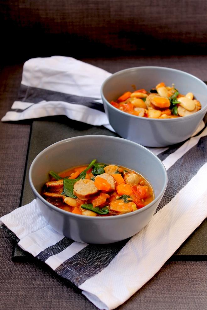 Italian-style Sausage Casserole • Comfort Food Recipe • Cake + Whisky