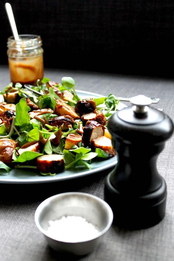 Tray roast salad ● Easy dinner recipe ● Cake + Whisky