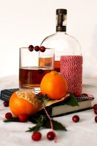 Festive old fashioned ● Christmas cocktail recipe ● Cake + Whisky
