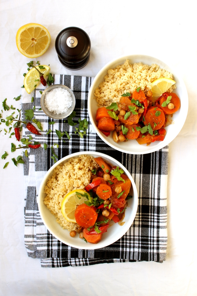Vegan Moroccan Tagine ● Recipe